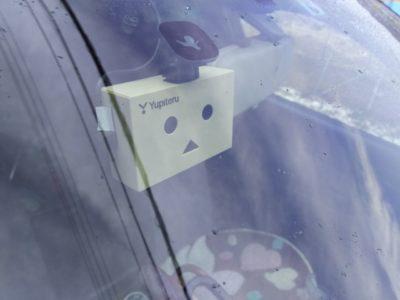 ダンボーのドライブレコーダーを取り付け