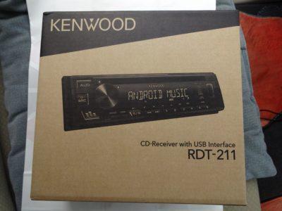 KENWOOD RDT-211の外箱