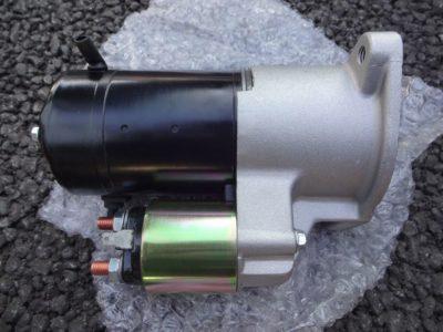 リビルド品の180SX(S13系)用セルモーター全体