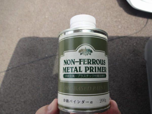 非鉄バインダーという塗装密着剤