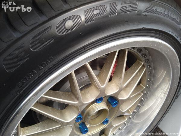 タイヤの銘柄