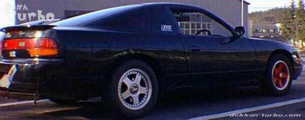 JICの車高調に交換した180SX