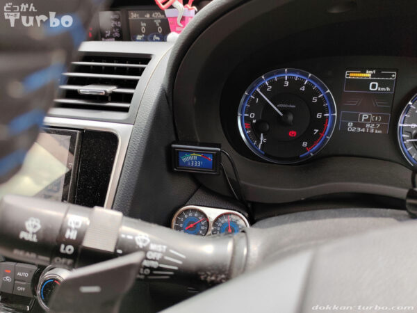 エンジン始動直後の温度